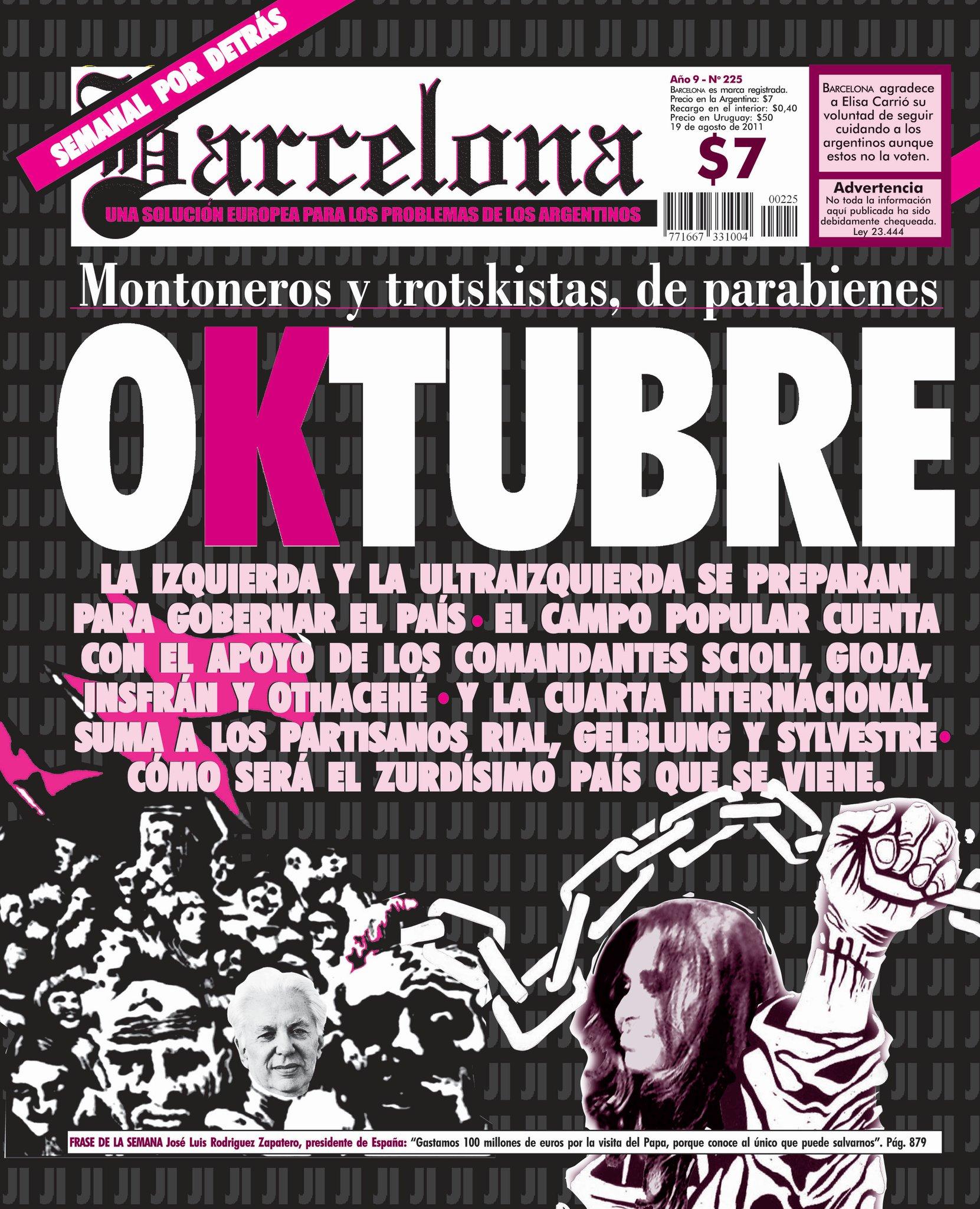 Barcelona: genial medio sin nada