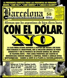 Con el dólar no