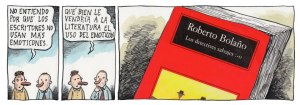 Liniers Homenaje a Roberto Bolaño